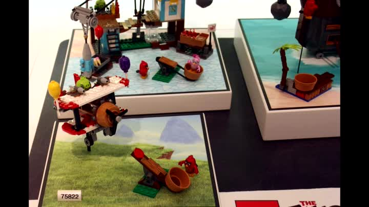 Видео: Lego Angry Birds Summer 2016 Sets Pictures From The Nuremberg Toy Fair. Review. Лего Злые Птицы