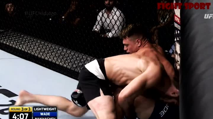 Islam Makhachev vs Chris Wade [FIGHT HIGHLIGHTS]