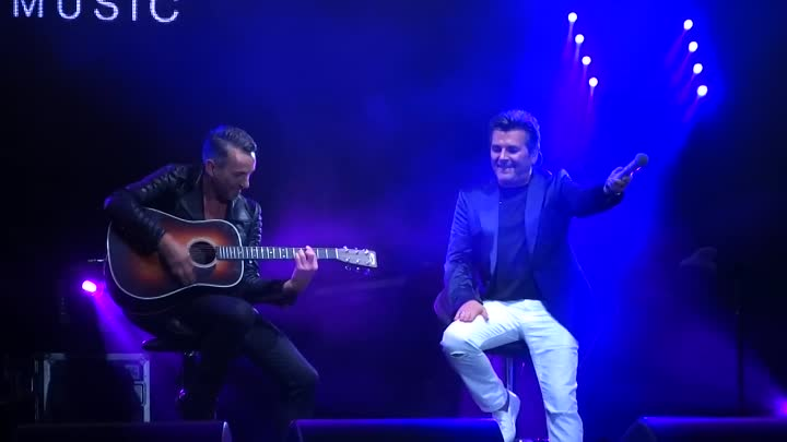 Видео: Thomas Anders - YMHYMS & Win the race (Budapest Park 17.09.2016)