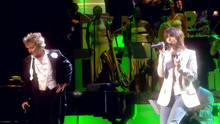 Rod Stewart - As Time Goes By (ft. Chrissie Hynde)