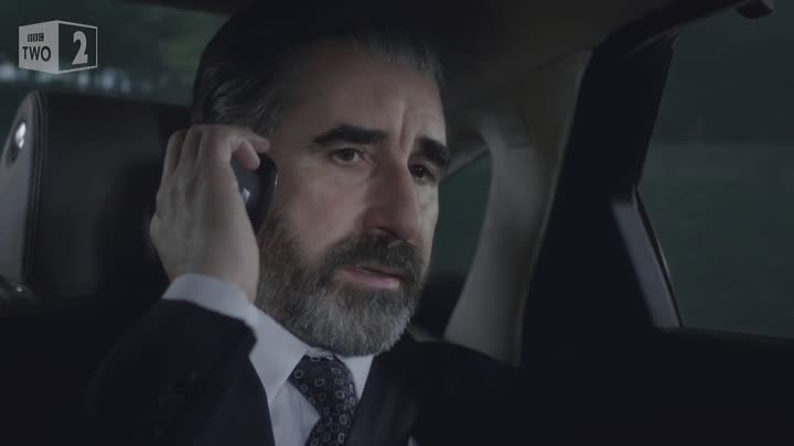 Gibson takes a call in the hospital - The Fall- Series 3 Episode 1