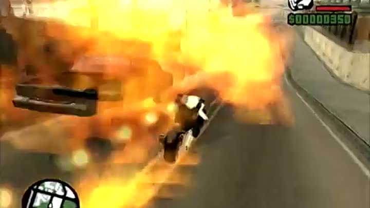 GTA San Andreas Superbohater mod cz 2: Ghost Rider, Spiderman