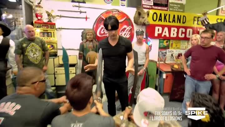 Criss Angel BeLIEve: At Sword Point (On Spike)