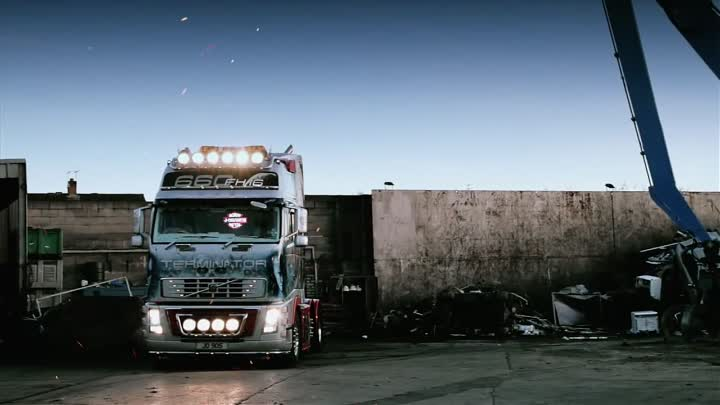 "Volvo Trucks - UK Driver Wayne Connelly shows his Terminator truck - ""Welcome to my cab"""
