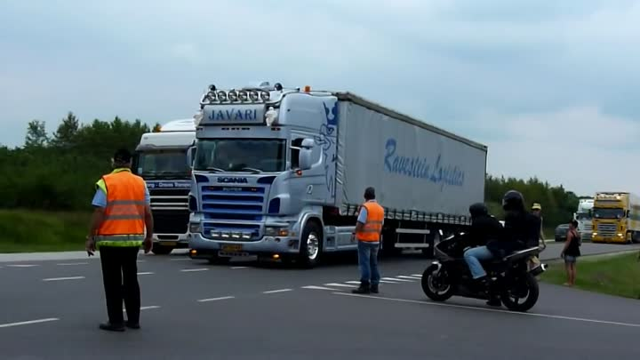 Scania V8 Film Mix 2012 - Loud Pipes Saves Lives! HD