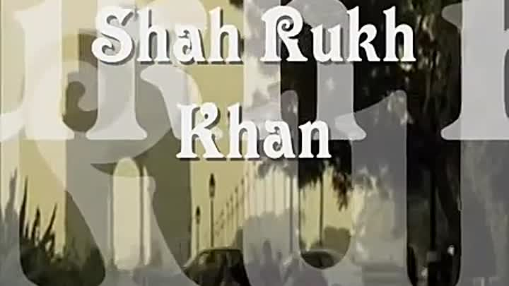 "Shah Rukh Khan - The best photo and video (music ""Chak De! India"")"