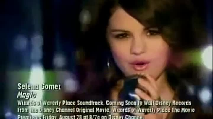 Selena Gomez Magic(Pilot) Music Video Wizards of Waverly Place