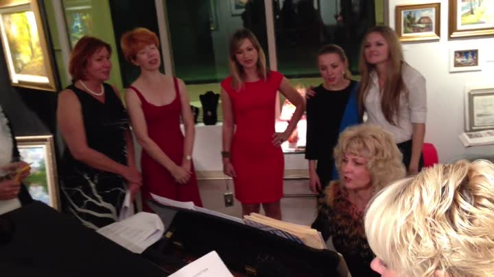 Видео: Russian Party at Gallery on Fifth