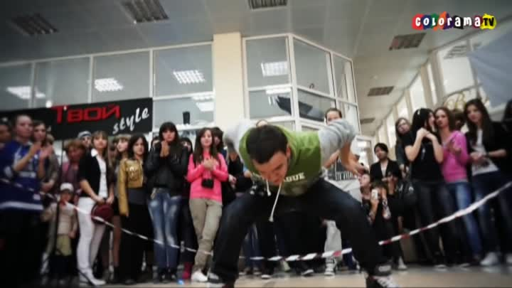 Танцы, hip - hop, break - dance, popping, jam в Георгиевске.avi
