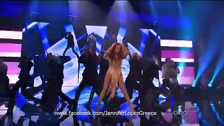 Jennifer Lopez - Medley (feat. Pitbull) Live at American Music Awards 2011 [HD]