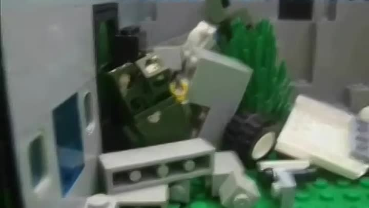 Видео: Lego City Zombie Infection Part 2