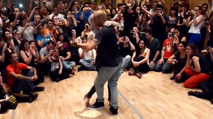 Kizomba Workshop by Albir and Sara at Feeling Kizomba Festival 2012, Madrid