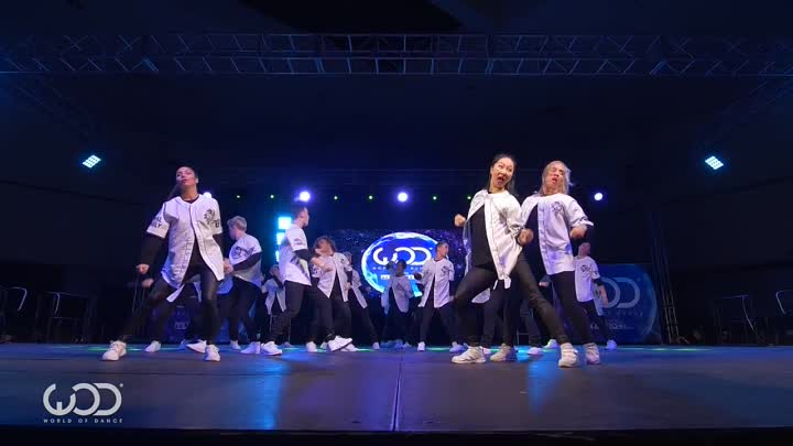 Royal Family - FRONTROW - World of Dance Los Angeles 2015 - #WODLA15