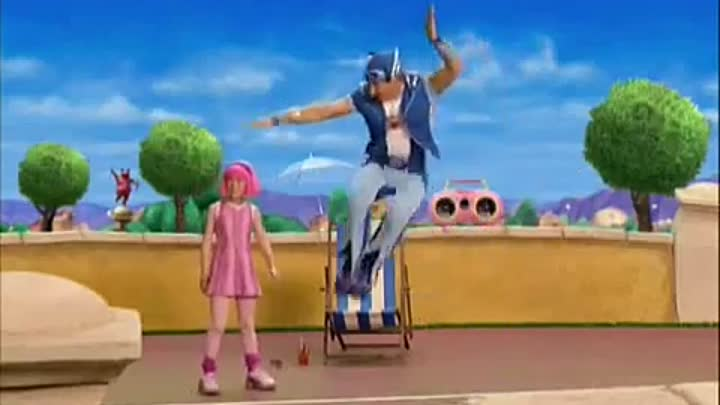 Лентяево / LazyTown - No one's lazy in LazyTown (Vacation version, Russian)