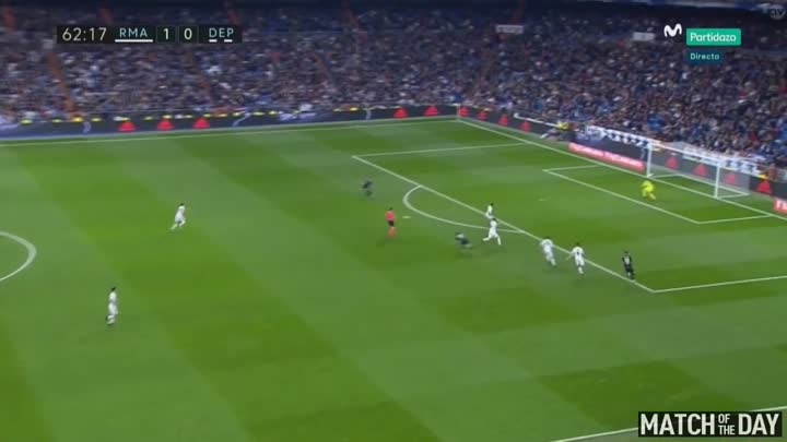 Real Madrid 3:2 Deportivo