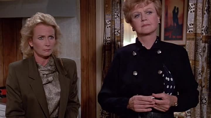 Видео: Murder She Wrote 4x03 Witness For The Defense - Свидетель обвинения