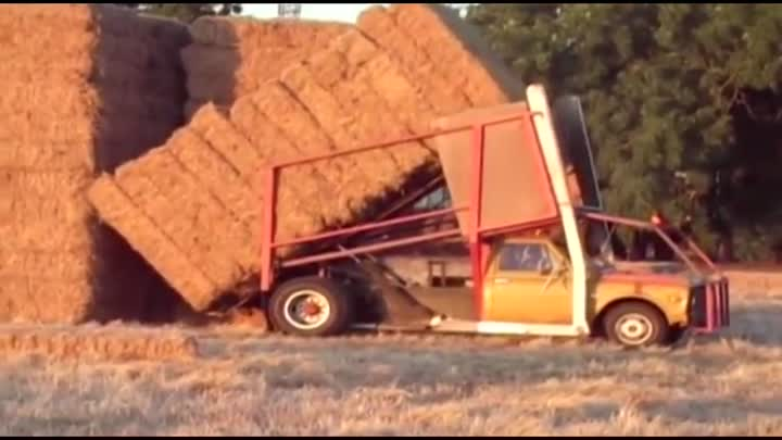 World Amazing Modern Agriculture Equipment and Mega Machines: Hay Bale Handling Tractor, Loader