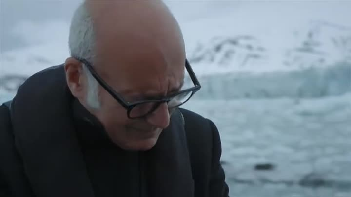 Pianist Ludovico Einaudi In The Arctic Ocean
