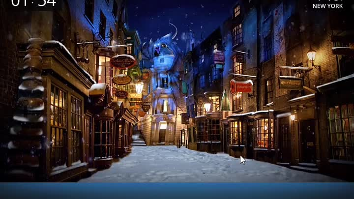 Живые обои Harry Potter Diagon Alley (Harry Potter Diagon Alley Live Wallpaper)