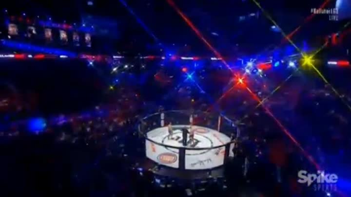 Sergei Kharitonov (RUSSIA) vs Javy Ayala (USA) - Bellator 163 - 9th Fastest KO in Bellator history