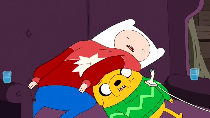 Adventure.Time.S07E14E15.The.More.You.Moe.-.The.Moe.You.Know.WEB-DL.1080p.Dub.Zeburo.TODruzey.Eng.Sub