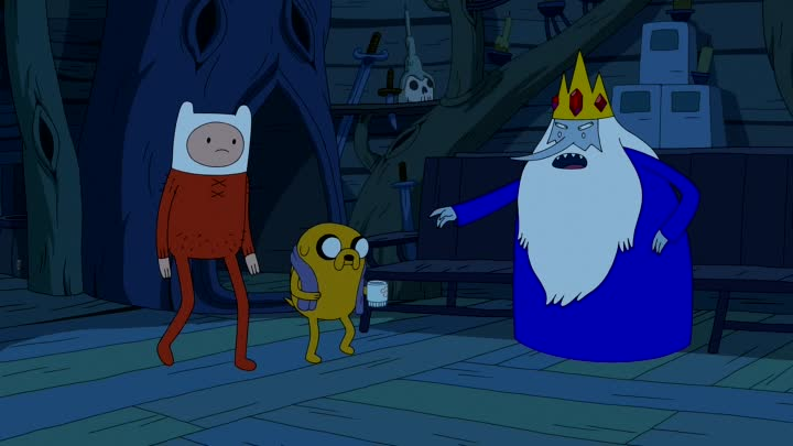 Adventure.Time.S07E21E22.Kings.Ransom.-.Scamps.WEB-DL.1080p.Dub.Zeburo.TODruzey.Eng.Sub