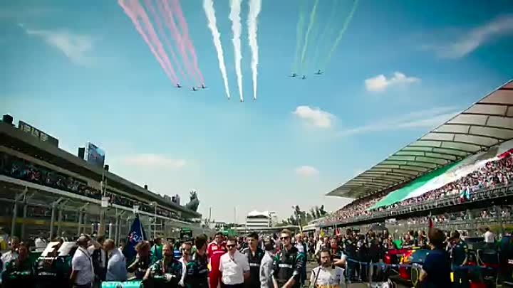 Видео: F1 2016 - Mexico GP Official Race Edit