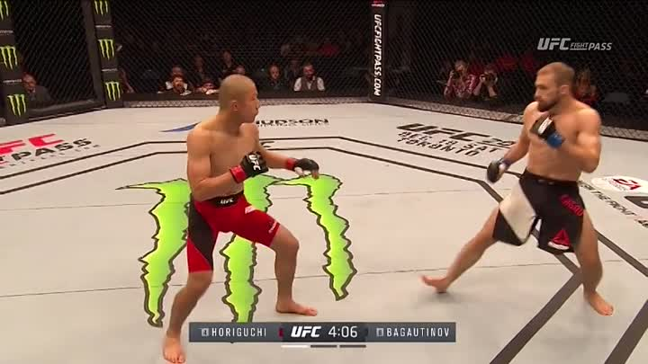 Али Багаутинов - Киоджи Хоригути (19.11.2016) UFC Fight Night 99 Kyoji Horiguchi vs Ali Bagautinov