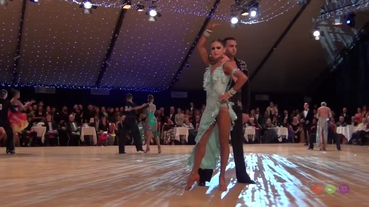 Stefano Di Filippo & Daria Chesnokova - WDC World Championship Professional Latin 2014 - Final Rumba
