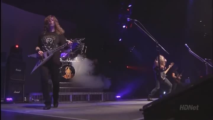 megadeth blood in the water live