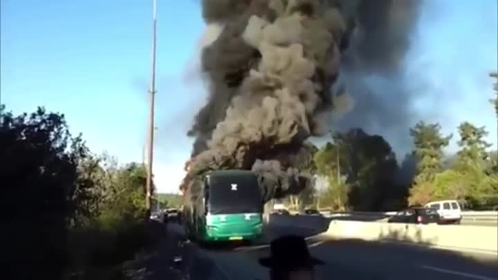 Bus on Fire Compilation