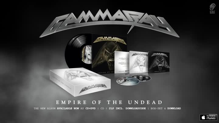 Видео: Gamma Ray 'Empire Of The Undead' Song 4 'Born To Fly'