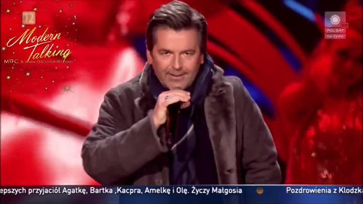 Thomas Anders - You're My Heart You're My Soul (Katowice. Poland 31.12.2016)