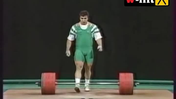 1996 Olympic Weightlifting, +108 kg class.