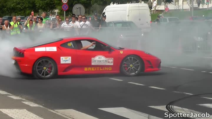 GT Polonia 2012 Highlights: Best Burnouts and Drifts HD