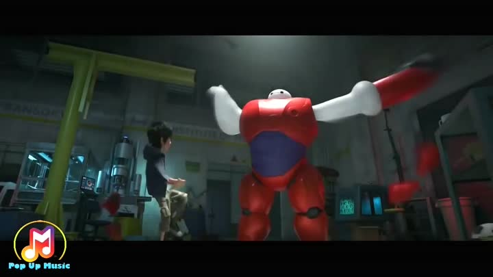 Видео: Fall Out Boy - Immortals Big hero 6 (Music video)