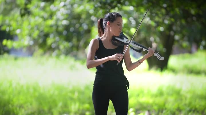 Видео: Shape of You (Ed Sheeran) - Electric Violin Cover ¦ Caitlin De Ville