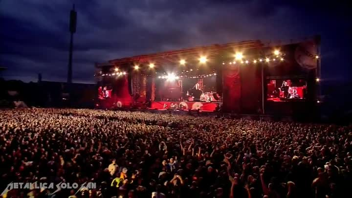 METALLICA - For Whom The Bell Tolls (Live In Sofia 2010)