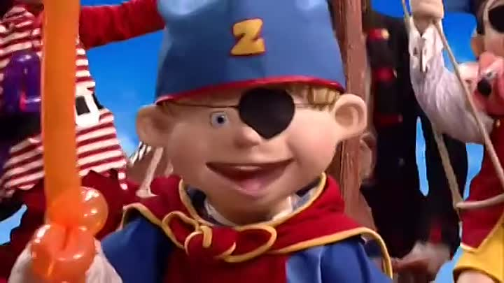 LazyTown / Лентяево - You are a Pirate (Russian)