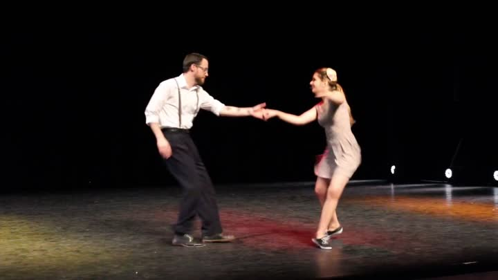 """10 Lindy Hop- """"In The Mood""""- Marine & Guillaume"""