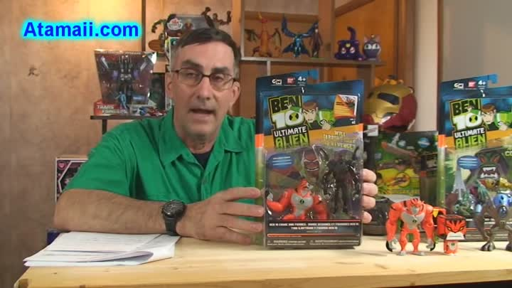 Видео: Ben 10 Toys Rath v2 and Six Six Comics and Figures Ultimate Alien UA Toy Review Unboxing