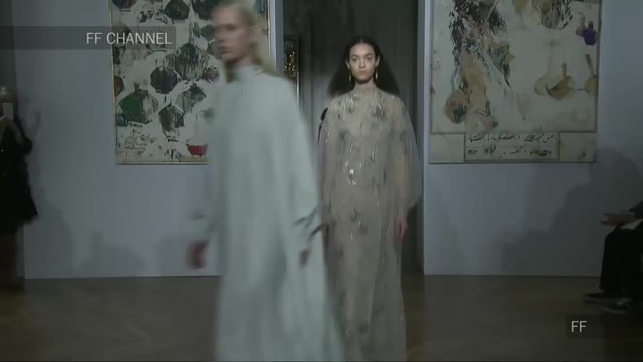 Видео: Valentino- - Haute Couture Spring Summer 2017 Full Show - Exclusive