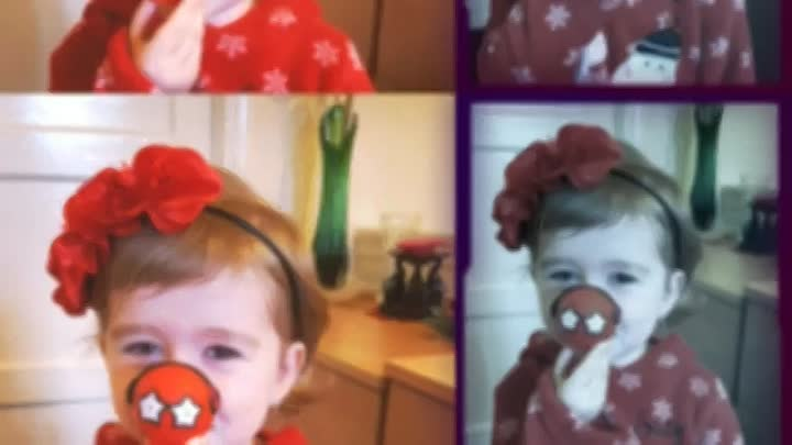 Видео: Red nose day 2017