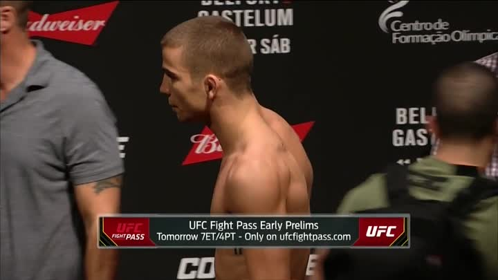 UFC Fight Night Fortaleza_ Official Weigh-in