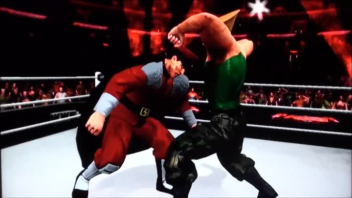 Видео: WWE SmackDown Vs. RAW 2011 - Street Fighter CAW Trailer - Available Now To Download (by jim784m)