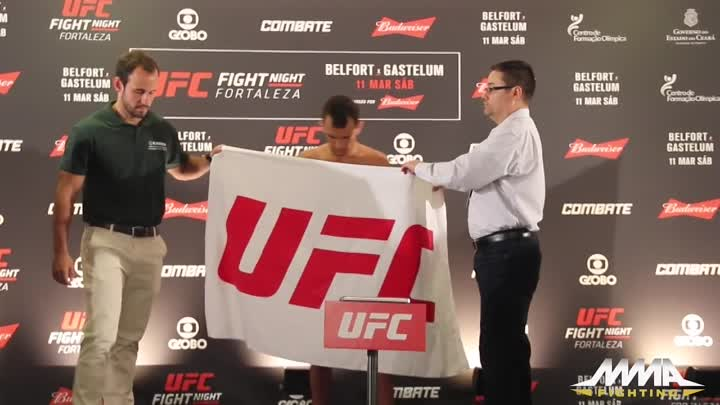 UFC Fight Night 106 Official Weigh-In