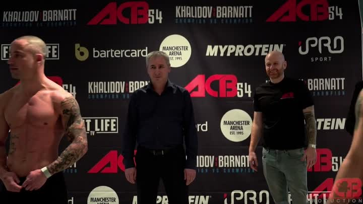 ACB 54 weigh-ins