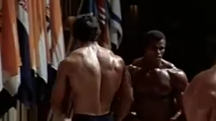 Mr. Olympia 1975 - Arnold Schwarzenegger, with Serge Nubret and Lou Ferrigno