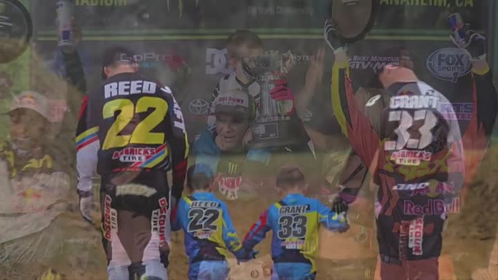Видео: Chad Reed 22 TWO TWO - The best supercross and motocross compilation 2015 !