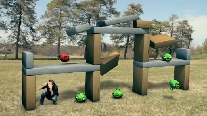 ANGRY BIRDS! (Interactive Game)